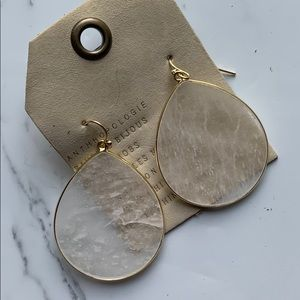 Anthropologie Drop Earrings NWT